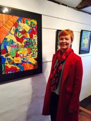 My work on show at the Halesworth Gallery