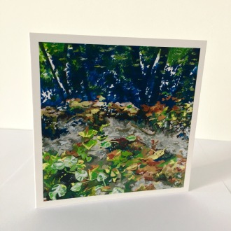 Fontaine-Bleu No.1 Greetings Card