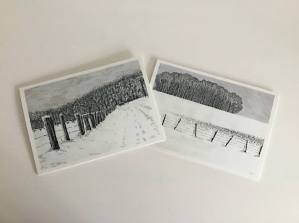 Agincourt in Winter - Christmas Cards - Two Designs Available