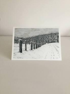 Agincourt in Winter No. 1